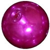 14mm Bright Pink Faux Pearl Bubblegum Bead