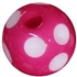 14mm Hot Pink Polka Dot