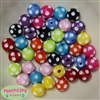 14mm Mixed Polka Dots 40 pack