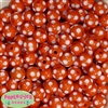 14mm Orange Polka Dots 20 pack