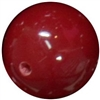 14mm Burgundy Red Acrylic Bubblegum Beads