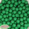 14mm Emerald Green Acrylic Beads