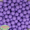 14mm Lavender  Acrylic Bubblegum Beads
