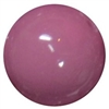 14mm Mauve Acrylic Bubblegum Bead