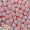 14mm Pale Pink Acrylic Bubblegum Beads