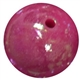 16mm Cranberry Miracle Bead