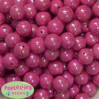 16mm Cranberry Miracle Beads