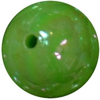 16mm Lime Green Miracle Bead