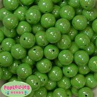 16mm Lime Greent Miracle Beads