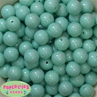 16mm Mint Miracle Beads