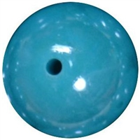 16mm Teal Miracle Bead