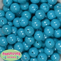 16mm Teal Miracle Beads