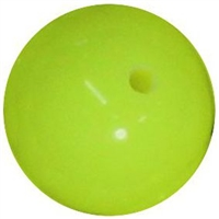 16mm Neon Yellow Solid