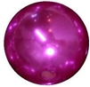 16mm Bright Pink Pearl Bead
