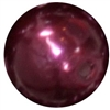 16mm Burgundy Pearl