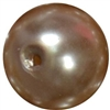 16mm Champagne Brown Pearl Bead