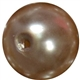 16mm Champagne Brown Pearl