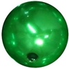 16mm Christmas Green Pearl Bead