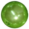 16mm Lime Green Faux Acrylic Pearl Bubblegum Beads