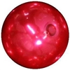 16mm Red Faux Acrylic Pearl Bubblegum Beads
