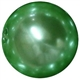 16mm Spring Green Faux Acrylic Pearl Bubblegum Beads