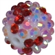16mm Confetti Love Rhinestone Bead