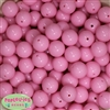 16mm Baby Pink Acrylic Bubblegum Beads