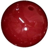 16mm Burgundy Acrylic Bubblegum Beads