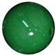 16mm Emerald Green Acrylic Bubblegum Beads