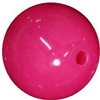 16mm Hot Pink Acrylic Bubblegum Beads