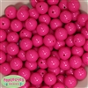 16mm Hot Pink Solid Beads