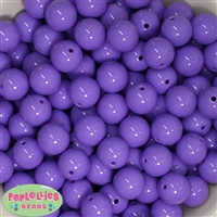 16mm Lavender Solid Beads