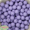 16mm Light Lavender Acrylic Bubblegum Beads