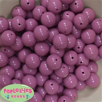 16mm Mauve Solid Beads 20pc