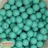 16mm Mint Solid Beads Bulk