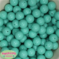16mm Mint Solid Beads