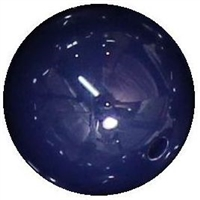 16mm Navy Blue Acrylic Bubblegum Beads