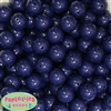 16mm Navy Blue Acrylic Bubblegum Beads Bulk