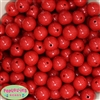 16mm Red Solid Beads Bulk