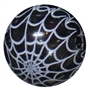 20mm Spider Web Print Pearl Bubblegum Beads