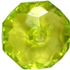22mm Clear Lime Abacus