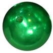 24mm Green Faux Pearl Bubblegum Beads