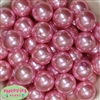 24mm Pink Pearl 10 Beads