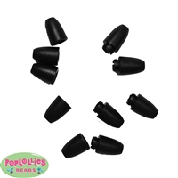 25mm Plastic Breakaway Clasps Black