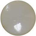 25mm Cream Disc Bead