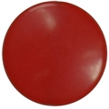 25mm Red Disc Bead