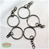 25mm Key Rings 5 pack