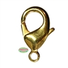 27mm Giant Gold Tone Lobster Claw Clasps