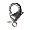 27mm Giant Silver Tone Lobster Claw Clasps