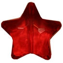 27mm Red Acrylic Clear Star